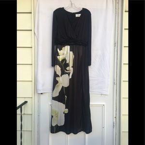 Aktuzarra For Target Floral Side Slit Maxi Dress